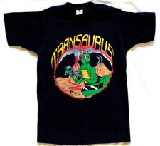 Vtg 80s 90s Transaurus Robot Dinosaur T-shirt S Rock Tour Concert Band Monster