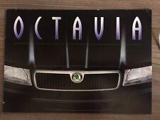 SKODA Octavia 1997 Gama Folleto. LX GLX coche Slx 1.6 MPI 1.8i 20 V 1.9 SDI TDI