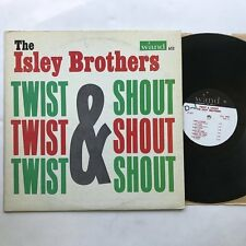 Isley Brothers Twist & Shout LP VG+/VG+ Mono on Wand Soul Oldies