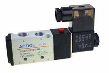 5 Way 2 Position 1/4'' Airtac Solenoid Valve 4V210-08 AC110V