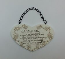 Special Nan Poem Plaque Christmas Gift Ideas for Grandparents & Her F1214C