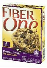 Fiber One Oatmeal Raisin Soft-Baked Cookies Box 6 count