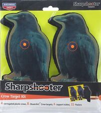 Birchwood Casey Shoot 'n' C Crow 8-Inch Target Kit (12-Piece)
