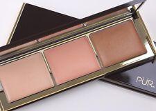 Pur Cosmetics Sun-Kissed Glow Strobe and Highlighter Palette FULL SZ NIB