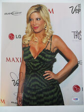 Tori Spelling Signed Authentic Autographed 11x14 Photo (PSA/DNA) #I86329