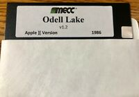 Odell Lake by MECC / Works on all Apple II, IIe, IIc, & IIgs Computers