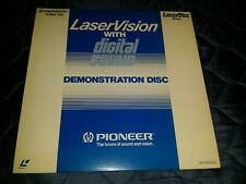 "LaserVision With Digital : Demonstration -12"" LASERDISC RARE"