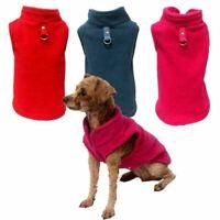 Pet Dog Fleece Vest Clothes Warm Winter Puppy Shirt Coat Jacket Sweater Apparel