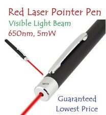 E88 Long Range 650nm 5mW Red Laser Pointer Pen with Visible Light Beam Radiation