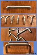 9 Handles Pulls Bar Satin Silver Cabinet Arch Drawer U Shape Heavy Vintage