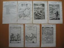 1683 - MALLET - Dutch RUSSIA Set maps prints text NEW ZEMBLE WAIGATS NEW HOLLAND
