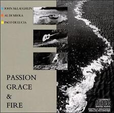 John McLaughlin / Al Di Meola / Paco de Lucía - Passion, Grace & Fire - CD
