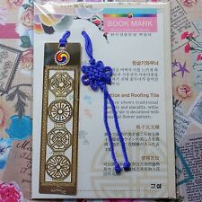Metal Bookmark Lettice and Roofing Tile Design With Mini Envelope Gift F/S