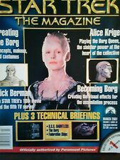 STAR TREK THE MAGAZINE MARCH 2001 ALICE KRIGE BY PARAMOUNT PICTURES
