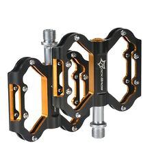 "RockBros BMX Bearing Pedale Plattform Alu 9/16"" Fahrradpedale Anti-Rutsch"