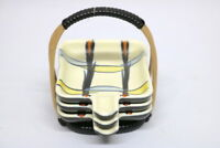50er Jahre Keramik Aschenbecher Set