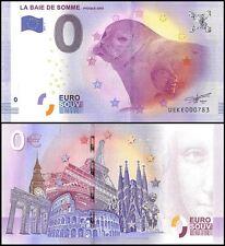 Zero (0) Euro Europe, 2017-1, UNC, Seal, La Baie De Somme Phoque Gris in France
