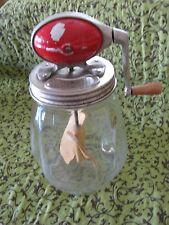 Antique Vintage Dazey Churn No. 4 Red Football Oval Top Butter Churn