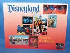 Rare Disneyland Remember The Moments A Magical Souvenir Book 2005 Misprint