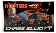 Chase Elliott HOOTERS 2020 CHEVROLET #9 3'x5' Deluxe Official NASCAR Racing FLAG