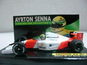 WOW EXTREMELY RARE McLaren MP4/7 Honda Senna GP Hockenheim 1992 1:43 Minichamps