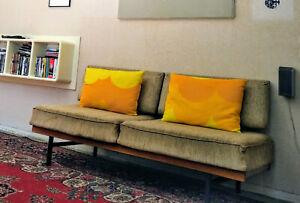 Knoll Mid Century Sofa Schlafsofa Couch True Vintage Design Daybed Stella Dansk