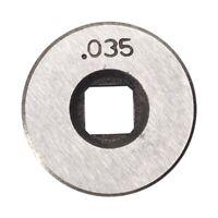 Mig Welder Wire Feed Drive Roller Roll Wheel Kit 25Mm Diameter 0.8-0.9Mm/.0 J1E7