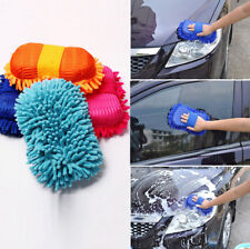 Brush Sponge Pad Microfiber Chenille Car Vehicle Care Cleaning Washing Tools JJ