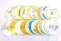 Lot of 41 Pre-Recorded CDs For Craft DIY Upcycle Projects Maxell Memorex