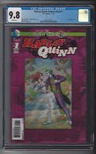 Harley Quinn Futures End #1 CGC 9.8 NM/M 3-D Lenticular cover Suicide Squad DC