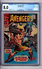 "Avengers #39 CGC 8.0 OWP ""App..HERCULES & MAD THINKER! Heck C&A!"