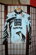 Saxo Bank Sungard Team Uci world Tour Best Team 2010 cycling warm jersey S . ALY