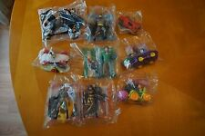 McDonalds Happy Meal Batman Animated 1993 Complete Set 8 Figs + Vehicles Sealed