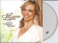 LAURA LYNN - maar met vlaamse meisjes CD SINGLE Europop 2012 BELGIUM