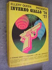 ELLERY QUEEN PRESENTA INVERNO GIALLO 1976-77 - 2 ROMANZI BREVI E 13 RACCONTI