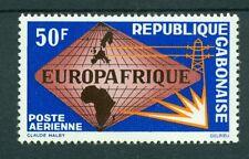 EMBLEMI - EMBLEM GABON 1965 Europafrica