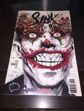 Sink 2 Dallas Fan Days Jock Homage Variant Signed by Steven Wilcox