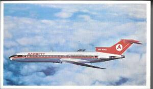 AIRLINE ISSUE  POSTCARDS-ANSETT AIRLINES-B727-200