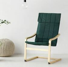 Birch Armchair (Dark Green), Lounge Chair Easy Chair, 5 Days Express Shipping