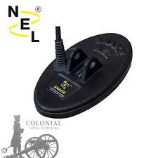 """Nel 6.5"""" x 3.5"""" Dd Snake Coil Searchcoil - for Garrett At Gold"""