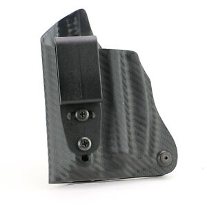FoxX Holsters IWB Deluxe Trapp Holster Ruger LC9 w/Green Lasermax CF LEFT