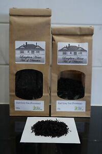 Laughton House  - Organic Premium Earl Grey Tea - OP1 Grade