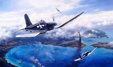 TRUDGIAN Gunfight Over Rabaul B-24 F4U Corsair *REMARQUE #4/50* w/ROBERT TAYLOR