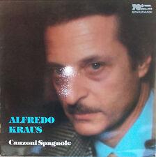 LP Alfredo Kraus - Canzoni spagnole -Spanish Songs - canciones en español,NM