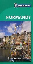 Michelin Green Guide Normandy (Green Guide/Michelin), Michelin, Good Condition,