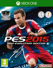 Pro Evolution Soccer 2015 Xbox One PES * NEW SEALED PAL *