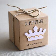 (W22-Rosa) 24st Taufgeschenk Gastgeschenk Baby Taufe Geburtstag Box Schachtel