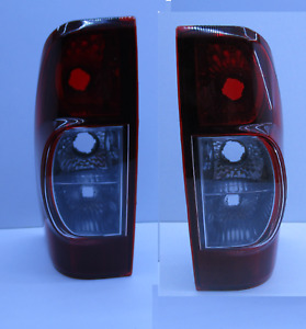 HOLDEN RA RODEO TAIL LIGHTS PAIR 10/2006-2008 TAIL LAMPS SMOKED/TINTED PAIR NEW