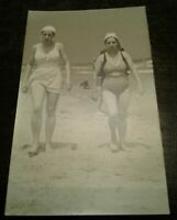 RPPC Real Photo Postcard Girls Old Orchard Beach Maine ME Coe's Studio Quote VTG