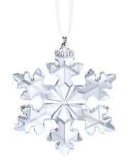 Swarovski 2016 Annual Snowflake Christmas Ornament Large 5180210 $79